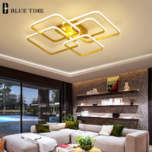 APP&Remote Dimmable Modern Led Ceiling Lamp For Living room Dining room Bedroom Parlor Home Aluminum Ceiling Light AC 110V 220V