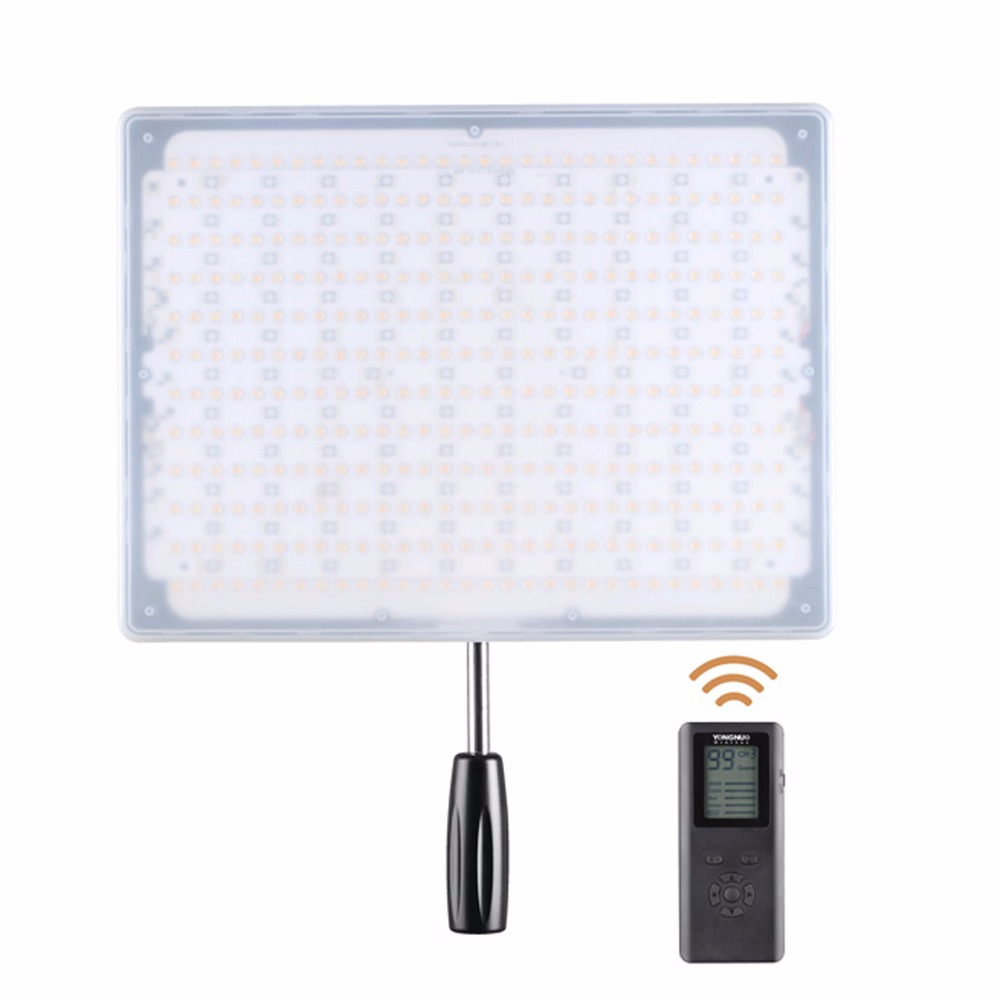 YONGNUO <font><b>YN600L</b></font> YN600 600 LED Light Panel 3200-5500K LED Photography lights FOR Video Light with Wireless 2.4G Remote APP Remote image