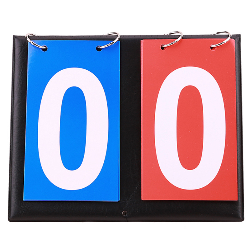 Две корзины табло счет доска футбольный матч зачетный обратный отсчет два соревнования двухсторонний с цифрами двойной сепаратор