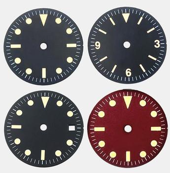 Nowy 1 sztuk zegarek tarcza tarcza tarcza średnica 28 5mm dla 2815 2824 3804 tarcza tanie i dobre opinie TONY Nowy bez tagów ROUND Zegarek twarze Ze stopu
