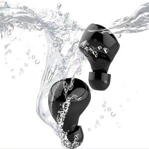 Image 5 - 수영 용 방수 이어폰 블루투스 무선 이어폰 이어폰 형 이어폰 딥베이스 스테레오 스포츠 헤드셋 귀리 형 이어폰