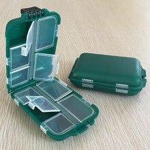 Коробка для рыболовных снастей прямоугольный пластиковый чехол для хранения для рыболовного крючка