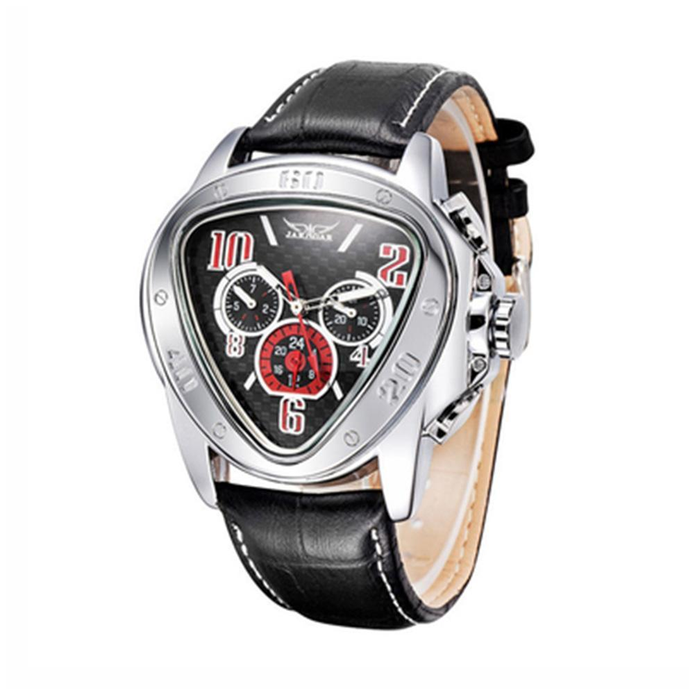 Jaragar Men Automatic Mechanical Wrist Watch Triangular Dial Business Watch Men Watch Automatic Mechanical Watch