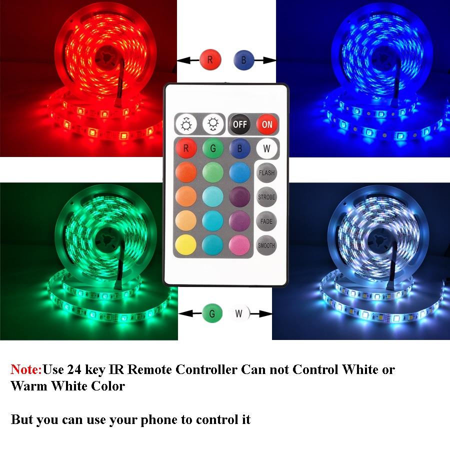 H3c520d91f5ad41c391f82f6d4b1ce881f 5050 LED Strip WIFI RGB RGBW RGBWW 5M 10M 15M RGB Led Color Changeable Flexible LED Strip Light + WIFI Remote Controller + Power