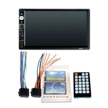 2 Din Car Video Player 7 inch Touch Screen Multimedia MP5 Bluetooth FM Radio