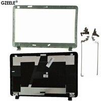 GZEELE yeni HP ProBook 450 G2 455 G2 LCD arka kapak üst durumda arka kapak 768123-001 AP15A000100 siyah/Menteşe