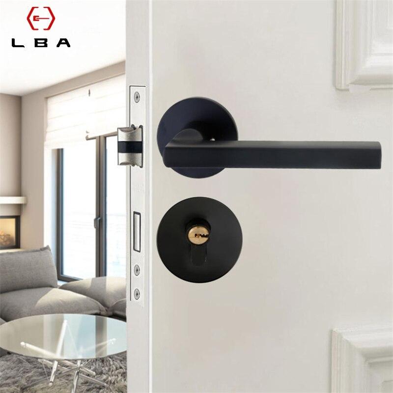 Lba Aluminum Alloy Decorative Furniture Sliding Door Lock American Style Bedroom Bathroom Puerta Interior Home Lock Door Locks Aliexpress
