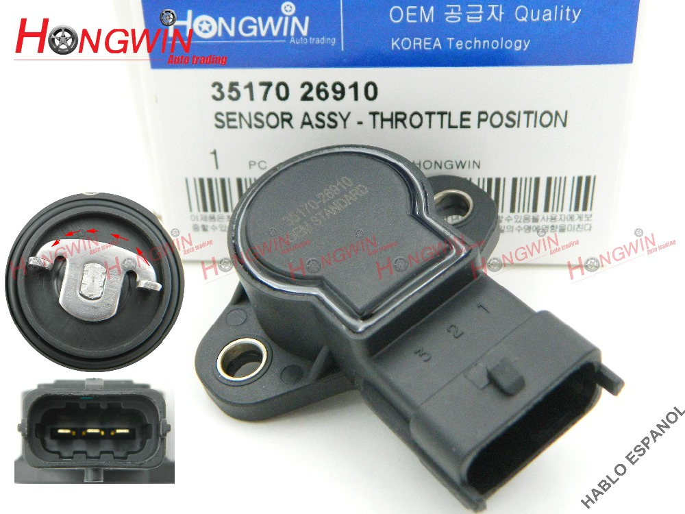 Genuine No.:35170 26910 Throttle Position Sensor Fits Hyundai Elantra 2.0L Kia Soul 1.6L 2.0L 07-12  35170-26910 ,3517026910