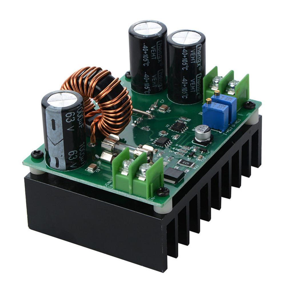 DC-DC 600W 10-60V to 12-80V Boost Converter Step-up Module Car Power Supply image