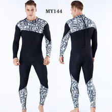 Thermal Camouflage 3MM Men Women Flocking Scuba Diving Wetsuit Neoprene Winter Fleece Lining Snorkeling Diving Spearfishing(China)