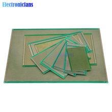 Panneau universel 5x7 6x6 6x8 7x9 7x12 8x12 9x15 10x15 10x22 12x18 15x20 13x25 18x circuit imprimé d'expérimentation PCB 30x40, Circuit imprimé Cave