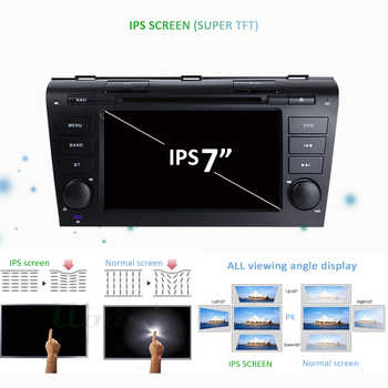 4G 64G IPS DSP 2 Din Android 9.0 Car multimedia dvd player GPS For Mazda 3 mazda3 2004 2005 2006 2007 2008 2009 car radio stereo