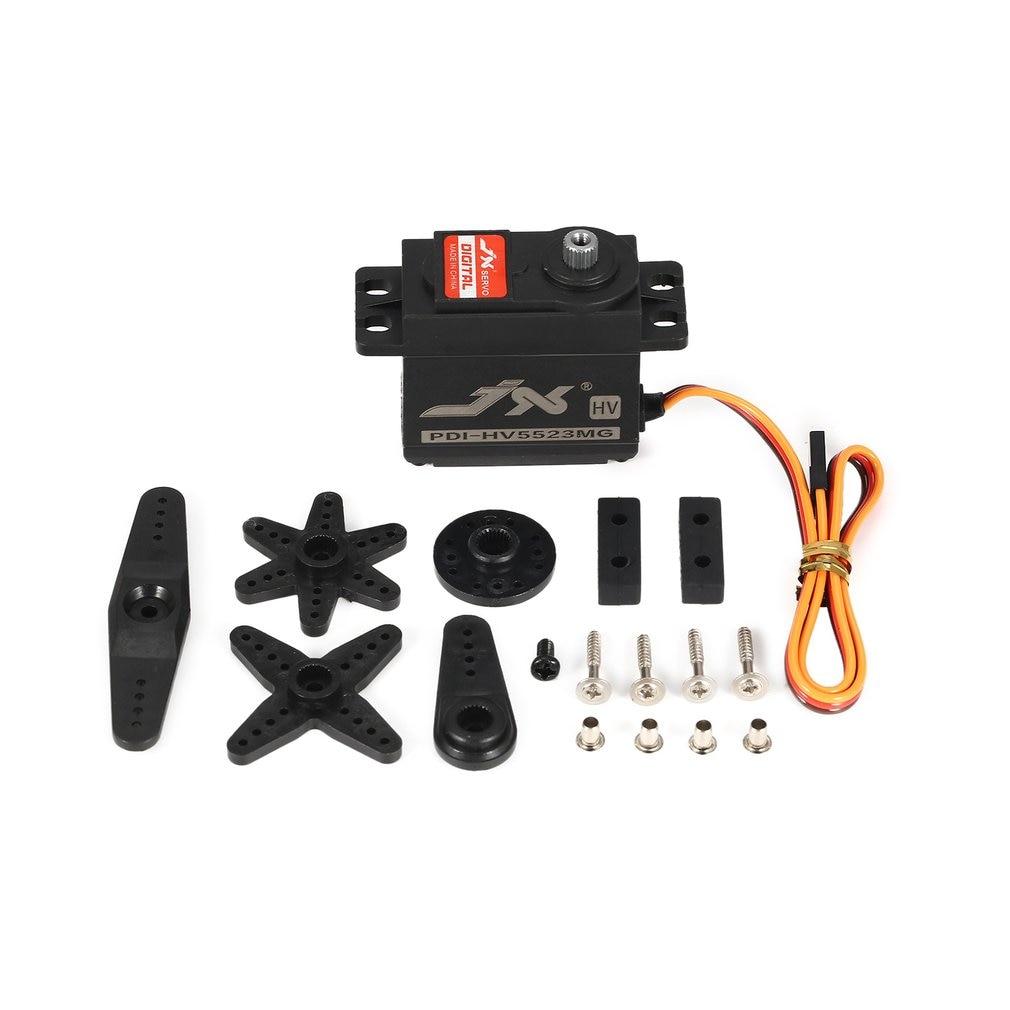 JX PDI-HV5523 HV High Voltage Metal Gear Digital Core Servo With 23kg High Torque For RC Car Robot Airplane Aircraft Drone DIY