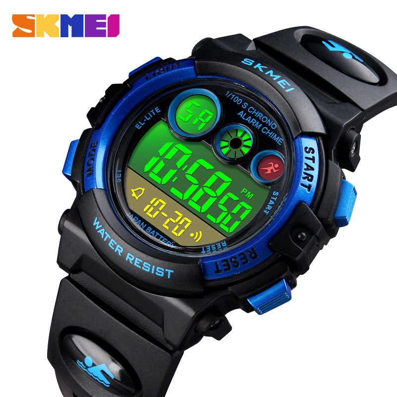 Kid Watch <font><b>SKMEI</b></font> Brand Children Watch Sport Wristwatch Chronograph Digital Sports Bracelet For Boy Fashion Girl's Watches Clock image