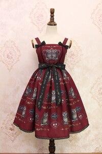 Image 4 - Doce coruja impresso lolita casual jsk midi vestido por alice girl stock estoque limitado