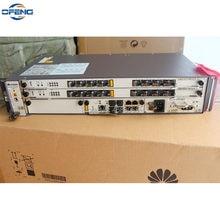 Huawei GPON OLT 10G, sprzęt DC MA5608T + 1 * MCUD1 10G + 1 * MPWC DC + 1*2 * GPBD 8 portów B + C + C + +,Hua Wei Terminal linii optycznej
