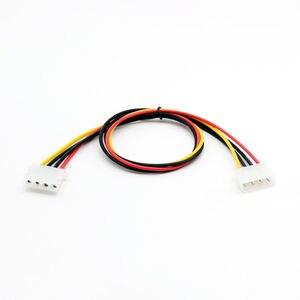 Image 1 - 1pc 50 cm/1.5ft IDE 4 PIN Molex Power męski na IDE 4 PIN Molex żeńskie gniazdo przedłużacz złącze adaptera kabla