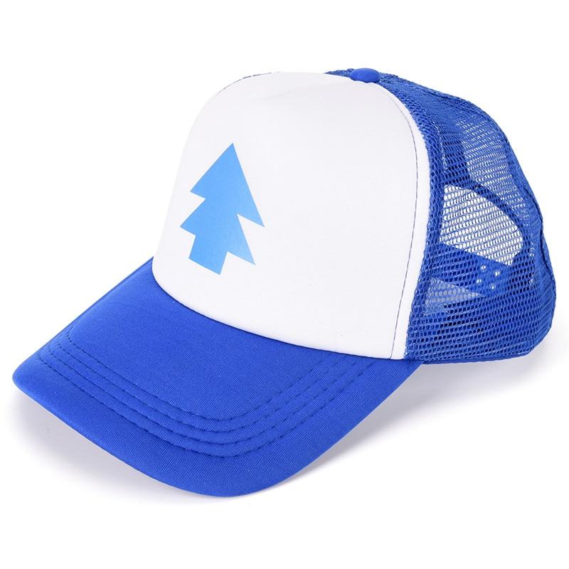 Women Men Trucker Baseball Cap Pine Tree Dipper Gravity Fall Mesh Hat Adjustable
