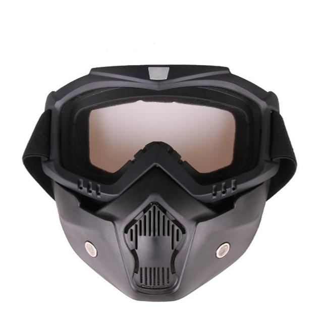 HiMISS Practical Motorcycle Tactical Glasses Mask Wind Dust Proof Outdoor Sports Equipment 3