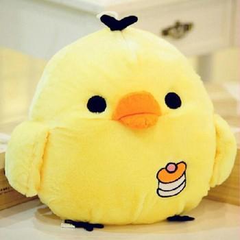 Pluszowe zabawki wypchane zwierzę kreatywne i nowatorskie kreskówki laska lalka żółta laska słodkie pluszowe zabawki Super miękki pluszowy zabawka w kształcie zwierzątka dla dzieci tanie i dobre opinie CN (pochodzenie) Small yellow chicken COTTON 13-24m 25-36m 4-6y 7-12y 12 + y 18 + Mały wisiorek Miękkie i pluszowe Unisex