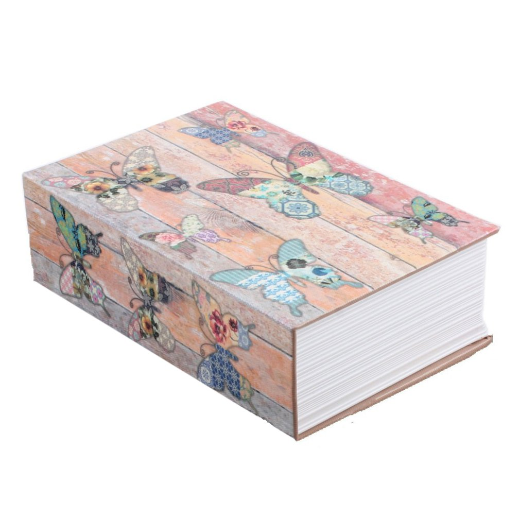 Exquisite Creative Book Safe Creative Book Insurance Box Money Box Book Small Key Box Creative Storage Gift