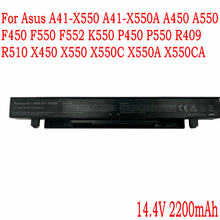Bateria de alta Qualidade Para Asus A41-X550 A41-X550A A450 A550 F450 F550 F552 K550 P450 P550 R409 R510 X450 X550 X550C X550A X550CA