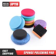 SPTA Ultra Soft Microfiber Car Wax Applicator Pad  5