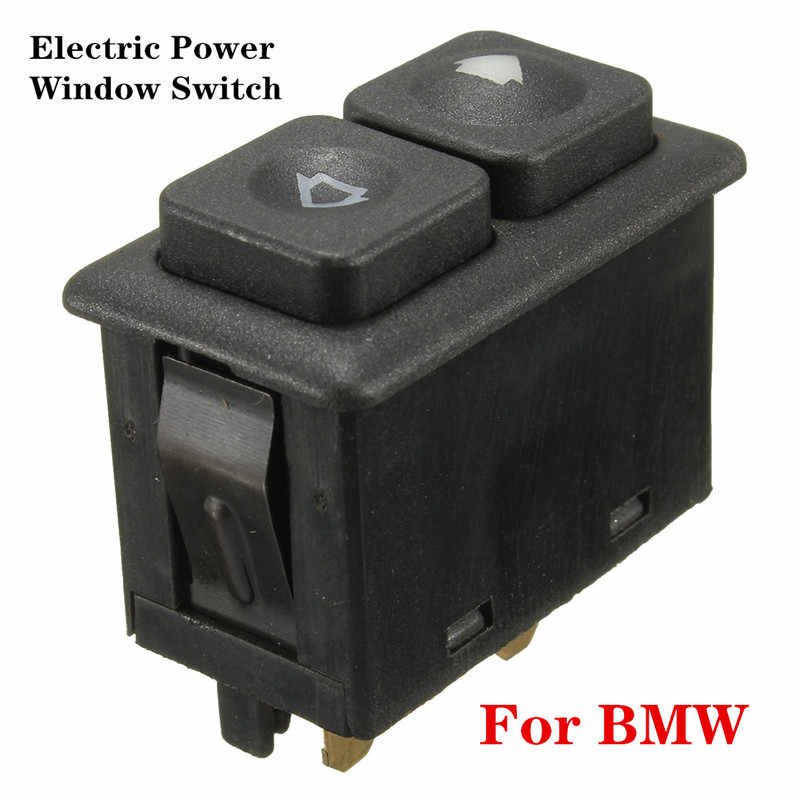 1 Pcs 5 Pins Electric Power Window Switch Knop Zwart Voor Bmw E23 E24 E28 E30 L6 M5 61311381205 Auto accessoires