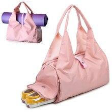 Scione Yoga Matte Tasche Gym Fitness Taschen für Frauen Männer Training Sac De Sport Reise Gymtas Nylon Outdoor Sport Tas sporttas XA441WA