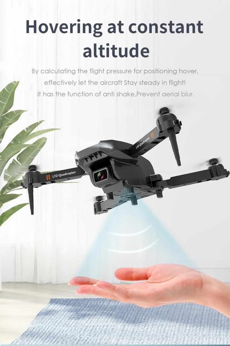 H3c55713189da4ccfb60ca532168e2fc24 - L703 Folding Drone 4K HD Aerial Photography Cameras WIFI FPV Aerial Photography Helicopter Foldable Quadcopter Drone Toys