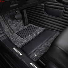 Custom made car floor mats for mitsubishi pajero sport 2017 outlander xl pajero 4 outlander 3 asx Lancer accessorie rugs carpet car seat cover covers for mitsubishi pajero 2 3 4 full sport carisma montero sport outlander 3 xl 2013 2012 2011 2010