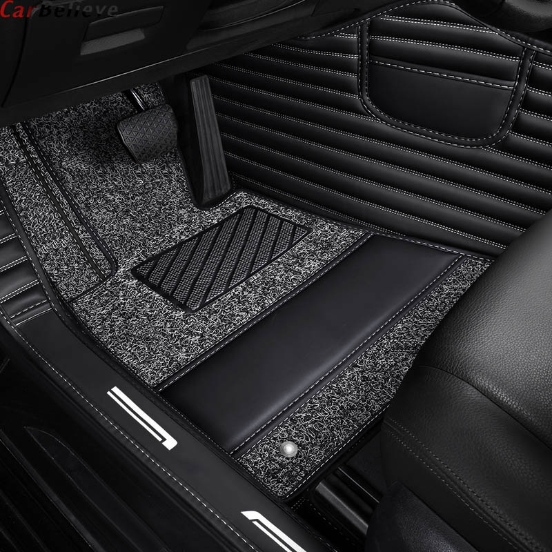 Fait sur commande tapis de sol de voiture pour mitsubishi pajero sport 2017 outlander xl pajero 4 outlander 3 asx Lancer accessoire tapis tapis