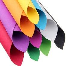 50*50 Cm 2mm Multicolor PE Foam Paper Handmade Sponge Fold Scrapbooking Crafts Flowers Background DIY Gift Card Decor