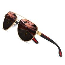 AOFLY Fashion Polarized Pilot Sunglasses Men Women Brand Des