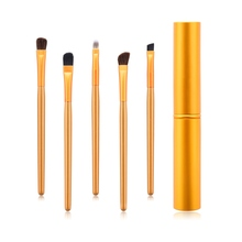 5pcs Eye Makeup Brushes Set Eyeshadow Eyebrow Brush Smudge Brush Eye Cosmetic Brush Kit Beauty Tools цена