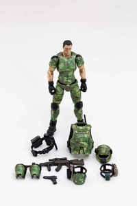 Image 5 - JOYTOY 1/18 action figures Russian army camouflage uniform military soldier figure model toys collection toy