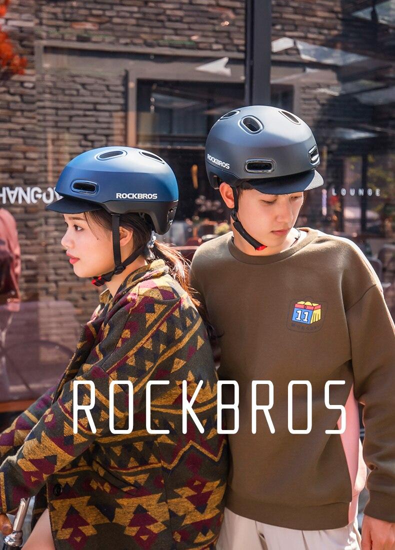 Rockbros Cycling Helmet Bike Bicycle Riding Helmet Safe Head Protector Breathable EPS Bike Equipment Mountain Road Bike Helmet