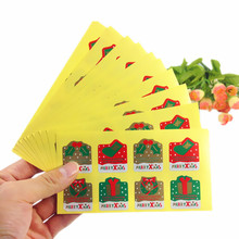 80pcs/pack MWRRYXMAS Christmas Element Sealing Sticker Wedding Decor Party Supplies In Winter