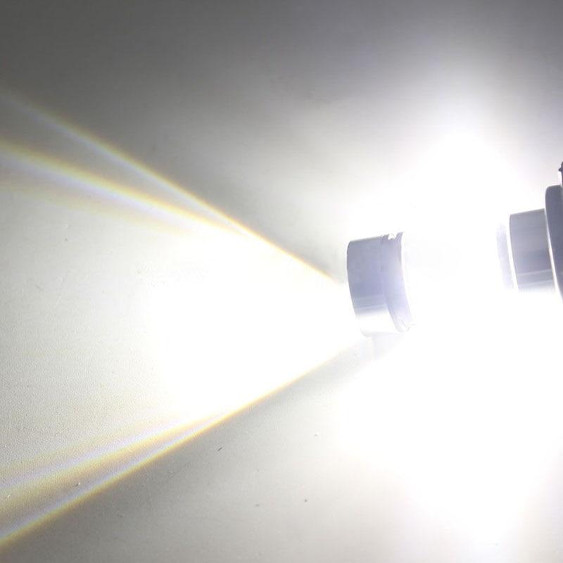 1 Pair H7 Car Headlight Bulb 100W LED 12V 24V Super Bright White 1500LM Car Fog Tail Driving Light