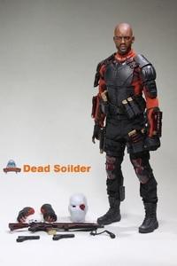 Image 2 - Art figures Dead Soldier Deadshot 1/6 Acton Figure AF 021