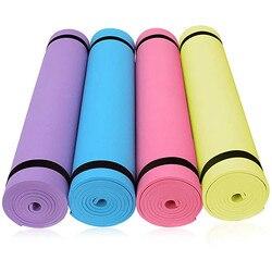 4 мм EVA Толстая прочная Циновка для йоги нескользящий ковер коврик для мыши ультра светильник полас, Пилатес коврик Фитнес коврики для занят...