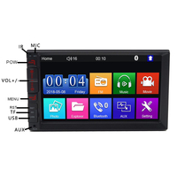 phone screen 7 inch 2 Din car audio Car Stereo Radio Player Mirror Link with android IOS phone Touch screen Bluetooth FM/MP5/USB autoradio (3)