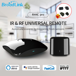 Broadlink RM4 Pro/Mini Smart Home WiFi IR RF Remote Controller Automation Modules WIFI Switch Compatible with Alexa Google Home