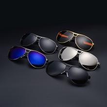 Polarized Sunglasses Men's Retro Sports Metal Outdoor Drving