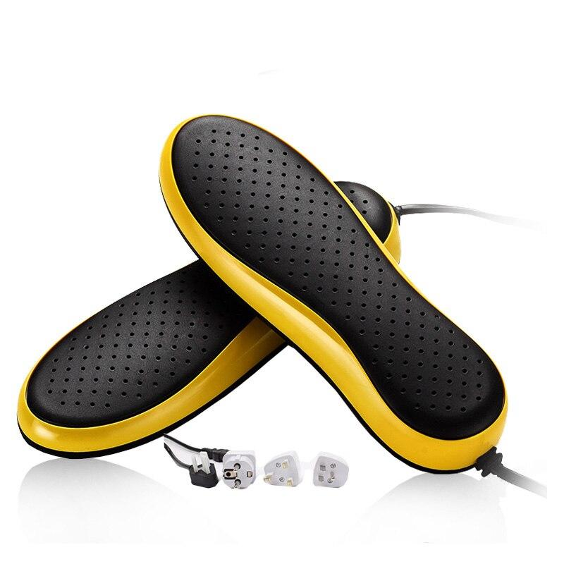 220 В 20 Вт электрическая сушилка для обуви ботинок сушилка с таймером УФ-Мини-стерилизатор подогреватель стерилизации дезодорант устройство теплый, с подогревом - Цвет: Yellow