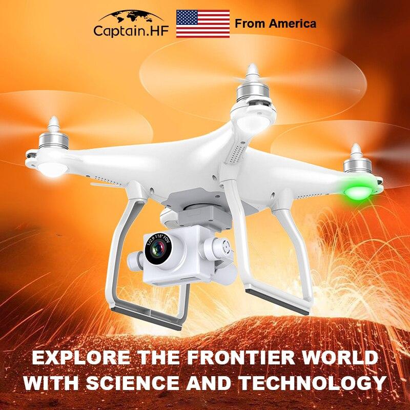 US Captain Quadcopter, UAV GPS HD Remote Control Aircraft, Drones 4K Video Camera, Aircraft Quadrocopter Aerial Video Anti-Shake