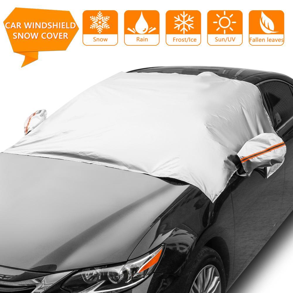 Magnetische Auto Frontscheibe Schnee Eis Schild Abdeckung Autos Windschutzscheibe Sonnenschirm Anti-frost Anti-nebel Universal Auto Sonne protector