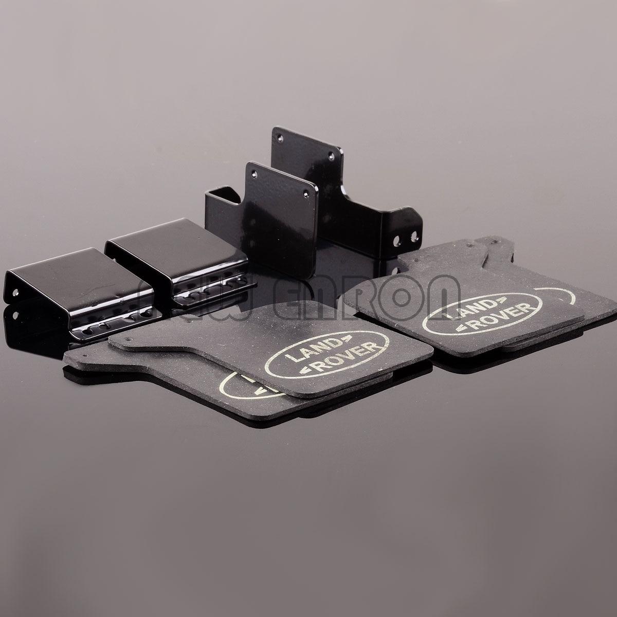 NEW ENRON  Rubber Quarters F & R Fender Mud Flaps  For 1/10 RC Crawler Traxxas TRX-4 D110