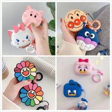 3D Earphone Case For Airpods Pro Case Silicone Cute Frog Stitch Cartoon Headphone/Earpods