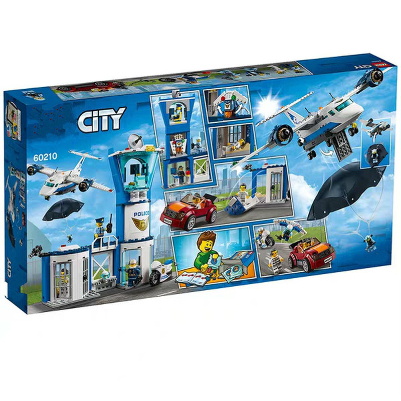 2019 New City Compatible  City 60210 Series Aerial Special Inspection Base Building Blocks Toys For Children Christmas  No Box